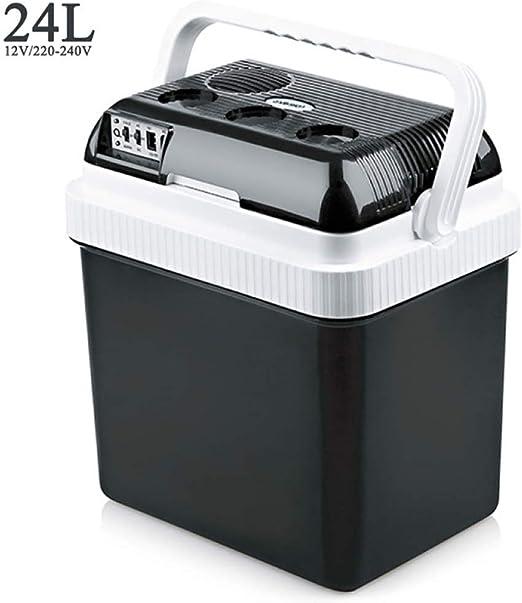 Congelador eléctrico, en caliente o frío, DC / AC, negro, con ...