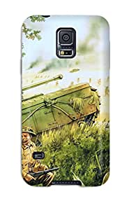 Hot For Galaxy S5 Premium Tpu Case Cover Artistic Protective Case