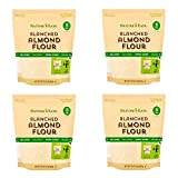 Nature's Eats Blanched Almond Flour, 32 Ounce(Pack of 4)