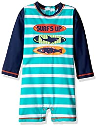 Hatley baby-boys Baby Baby Swim Shirt