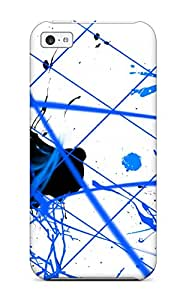 Awesome YBQ-6190lWeJyRJM MacMillanWallacee Defender Tpu Hard Case Cover For Iphone 5c- Paint Splatter