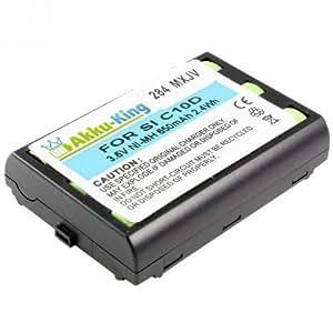 Akku-King Ni-MH batería para Siemens C10 / C10D C10E C11E C11D - 650mAh