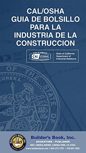 Download CAL/OSHA Guia De Bolsillo Para La Industria de La Construccion (Spanish Edition) ebook
