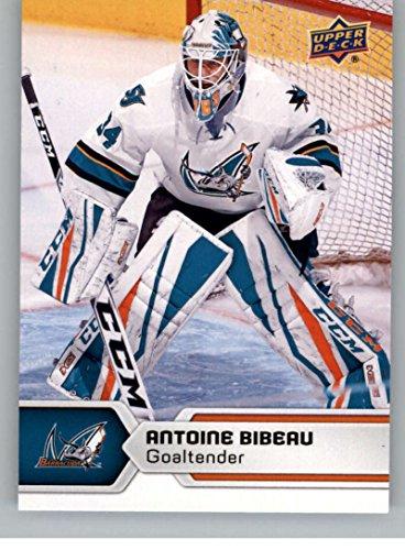 2017-18 Upper Deck AHL #96 Antoine Bibeau San Jose Barracuda