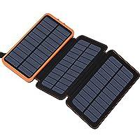 Solar Charger 24000mAh, FEELLE Solar Pow...
