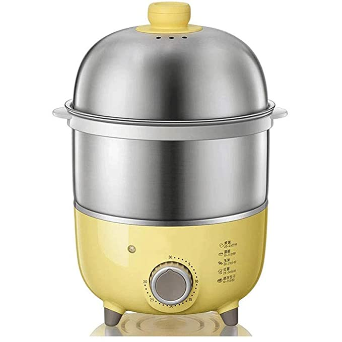 WCJ Hogar de Acero Inoxidable Huevo Cocina eléctrica for Suave ...