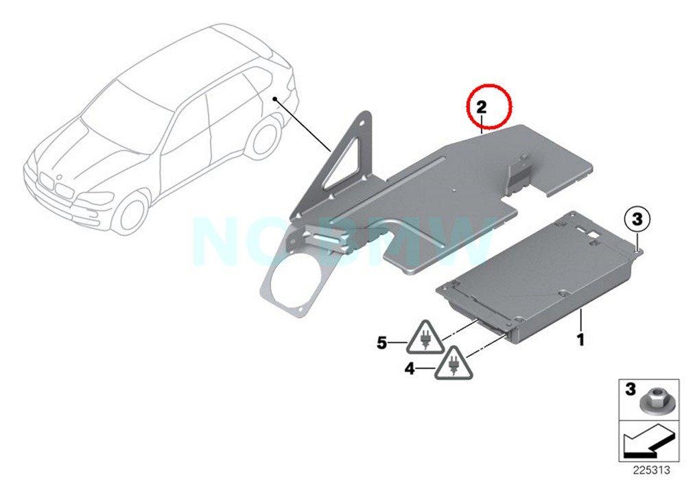 BMW Genuine Bracket For Telematics Control Module