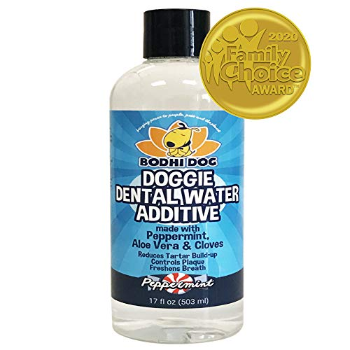 New Peppermint Fresh Breath Dental Water Additive for Dogs and Pets | Teeth, Breath, and Healthy Gums | Best for Tartar…