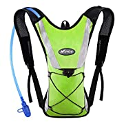 KUYOU Hydration Pack with 2L Hydration Bladder Lightweight Insulation Water Rucksack Backpack Bladder Bag Cycling…