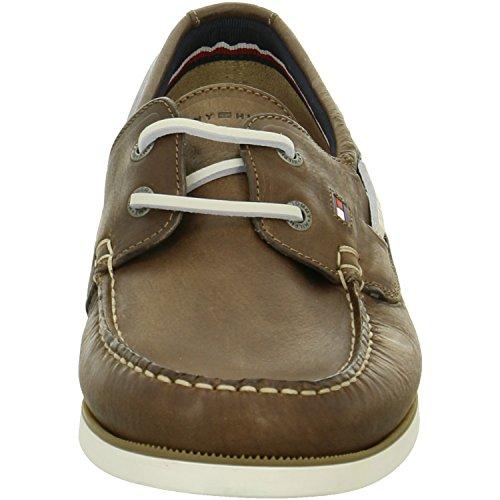 Tommy Hilfiger FM56820601-211 Knot - Zapatillas para hombre Marrón - marrón
