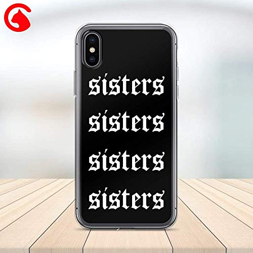 CatixCases Sisters James Charles, James-Charles Sisters Phone Case Cell Plastic Сlear Case for Apple iPhone X/XS/XR/XS Max / 7/8 / plus iPhone 6 / 6S plus Protector Protective Cover Art Design
