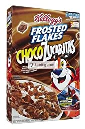 Kellogg\'s Frosted Flakes Cereal-Chocolate-14.7 Oz-2 Pack