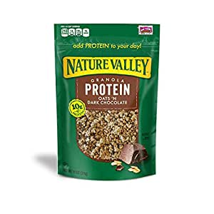 Nature Valley High Protein Granola - Oats N Dark Chocolate, 11 Ounce