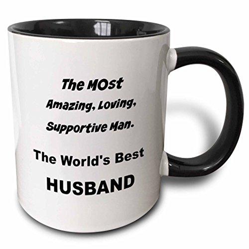 3dRose mug 212706 4 amazing supportive husband
