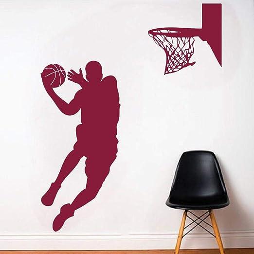 wukongsun Baloncesto Apliques de los Hombres Vinilo decoración de ...
