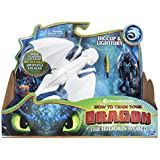 Dragons 6052266 Viking Lightfury & Hiccup, Colores Mezclados