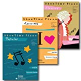 Showtime Piano Pack - Level 2A - Three Book Set - Includes Classics, Favorites and Popular - Piano Adventures Supplementary Series