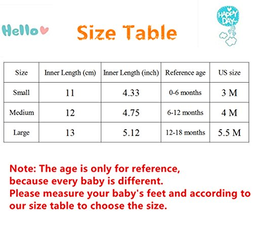 Image of RVROVIC Baby Boys Girls Shoes Canvas Toddler Sneakers Anti-Slip Infant First Walkers 0-18 Months