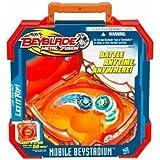 Bey Blade Mobile Beystadium Affronte tes Adversaires partout! Range et transporte plus de 50 Toupies!(non inclues)