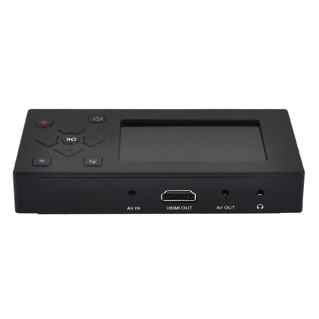 Prettyia Camcorder DVD DVR Game Box Converter Include 8GB Memory Card Inside, Interface USB 2.0