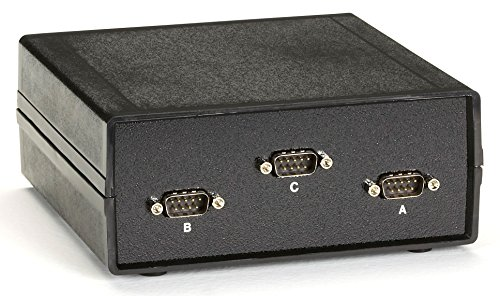 Black Box DB9 Switch, ABC , Chassis Style A,  Male