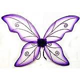 Women's Wild Fairy Wings Costume (Purple)