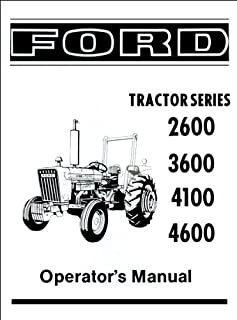 51ehLSEsJ%2BL._AC_UL320_SR238320_ ford models 2310 2600 2610 3600 (fo 41) penton staff Old Ford Tractor Wiring Diagram at edmiracle.co