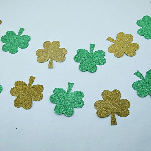 Quasimoon Patricks Glitter Garland PaperLanternStore