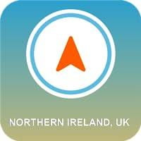 Northern Ireland, UK GPS