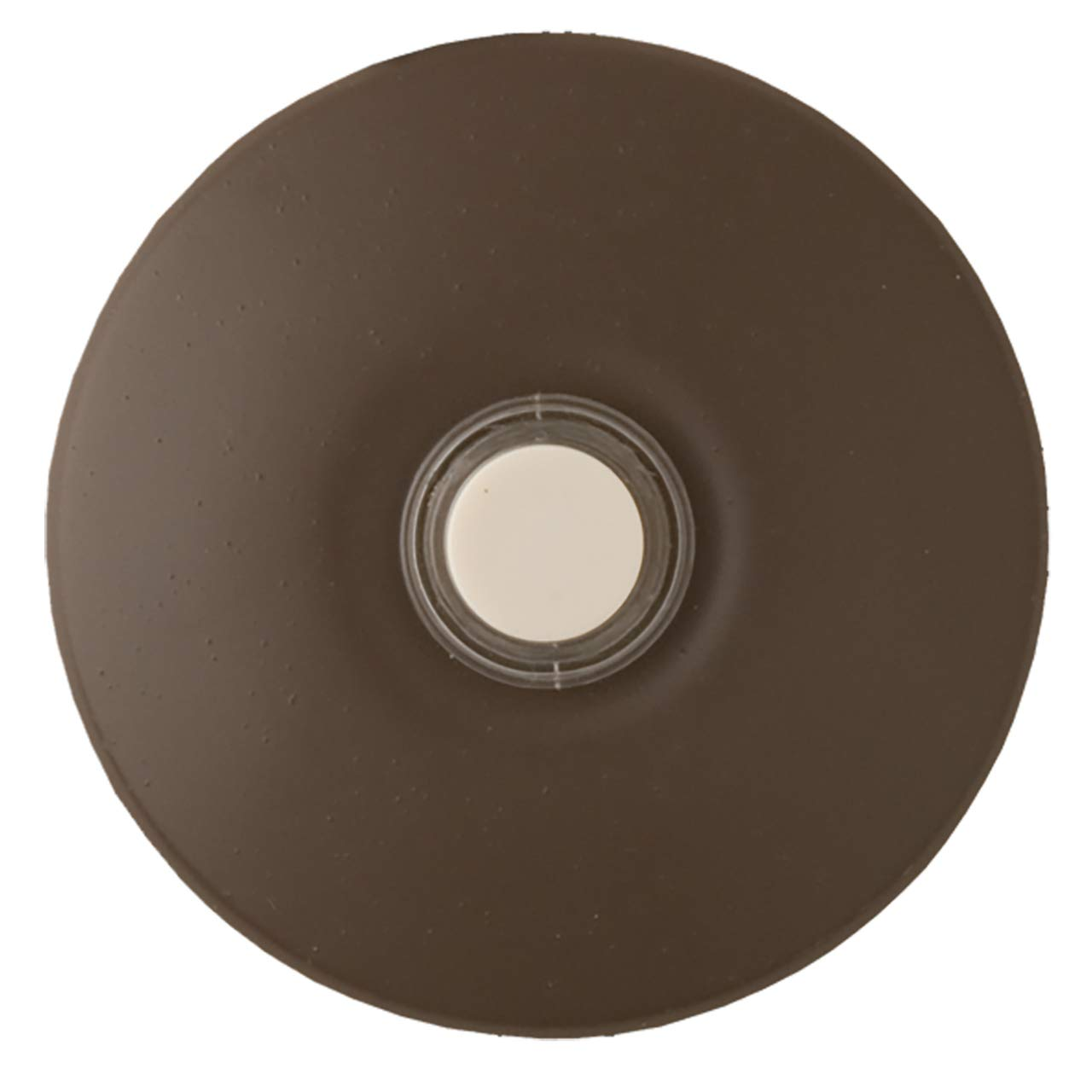 NICOR STUCCOBTNARCHBZ Lighted Stucco Doorbell Button in Architectural Bronze