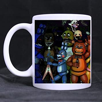 Cup Fnaf Freddy À Mug White Custom Coffee tasses Café Cozyhome PXiuwTlOkZ