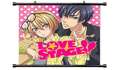 Love Stage!! Fabric Wall Scroll Poster (32x32) Inches. [WP]- Love-2(L) - Love Stage Poster