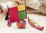 Studio M Gypsy Miniatures Gift Boxed Mini Garden Kit, 5-Piece, Simple Life