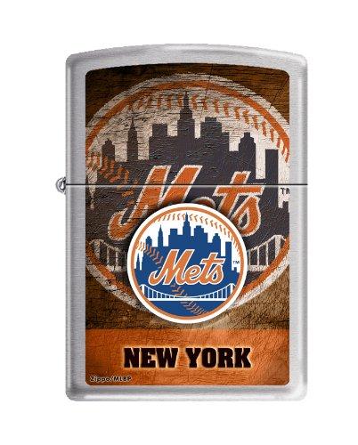 MLB New York Mets Color Zippo Lighter