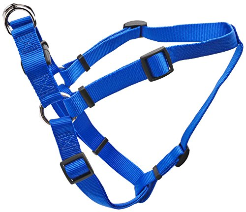 Coastal Pet Products DCP6945BLU Nylon Comfort Wrap Adjustable Dog Harness, 1-Inch, Blue