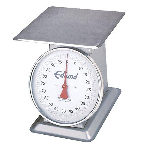 Edlund HD-10DP Dial Type Portion Scale w/ Sloped Face & Dashpot (10 lb x 1/2 oz Graduation)