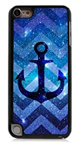 HeartCase Hard Case for Apple itouch 5g 5th Generation ( Chevron Anchor Boat )