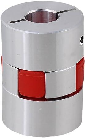 Yibuy 10/mm x 14/mm CNC Flexible Plum Couplage Shaft Moteur Pas /à Pas D30/mm L40/mm