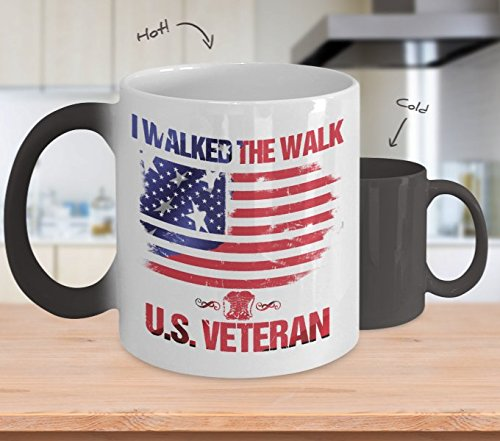 I walked the walk U.S. veteran