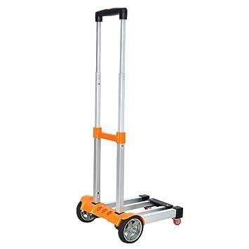 MILAYA JI Bin Shop® Supermercado Descarga Camión De Aleación De Aluminio Carro De La Compra