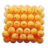 REGAIL 50 Yellow 3-star 40mm Table Tennis Balls Advanced Training Ping Pong Balls