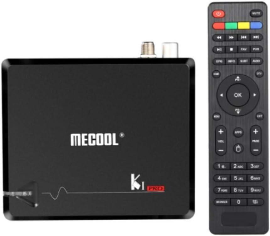 MECOOL KI PRO 4K Android 7.1 Receptor Quad core TDT y Satelite, 2Gb RAM y 16Gb Almacenamiento. Wifi y Bluetooth: Amazon.es: Electrónica