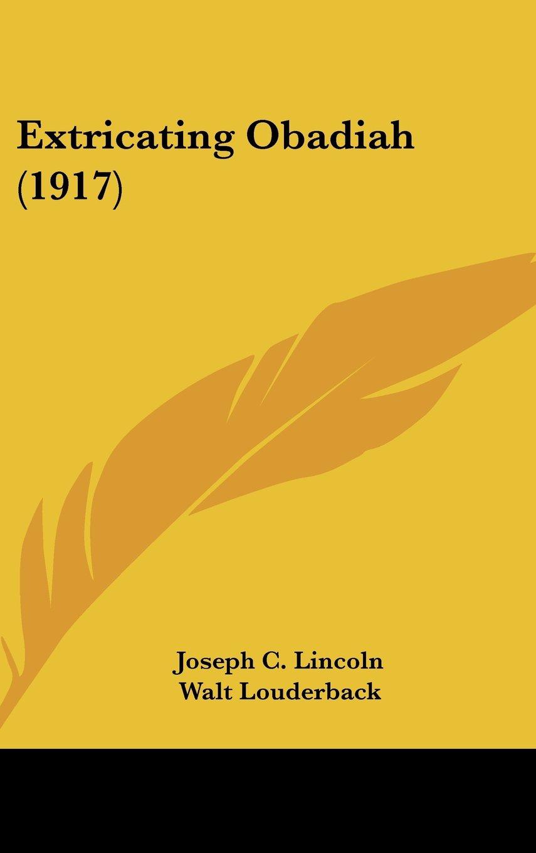 Extricating Obadiah (1917) pdf epub