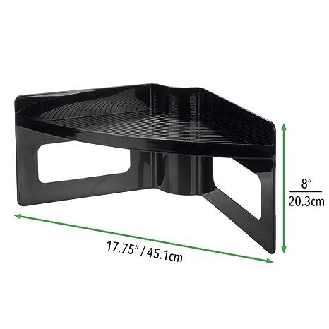 Amazon.com: mDesign - Bandeja de plástico para ...