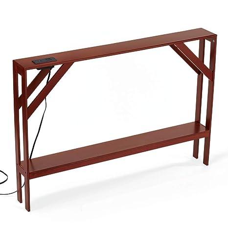 Amazon.com: Collections Etc - Hermosa mesa de sofá con ...