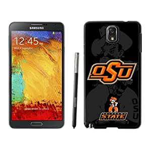 Fashion Custom Designed Cover Case For Samsung Galaxy Note 3 N900A N900V N900P N900T Phone Case With NCAA Big 12 Conference Big12 Football Oklahoma State Cowboys 14 Protective Cell Phone Hardshell Cover Case for Galaxy Note 3 III N900 N9005 Black