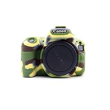 DSLR - Funda Blanda de Silicona para cámara réflex Digital Canon ...