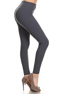 f2b413c3760 Leggings Depot High Waisted Leggings -Soft   Slim - Solid Colors ...