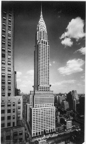 Photo: Chrysler Building, York City,NY,c1930,art deco