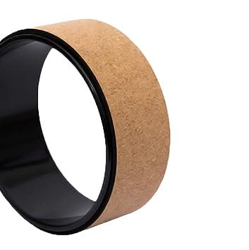 Yoga Wheel- más Fuerte más cómodo Dharma Yoga Prop círculo ...
